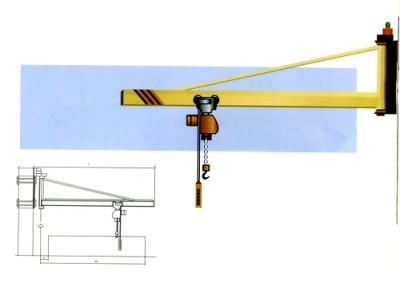 壁柱式旋臂起重机