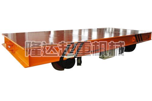低壓軌道供電系列電動平車