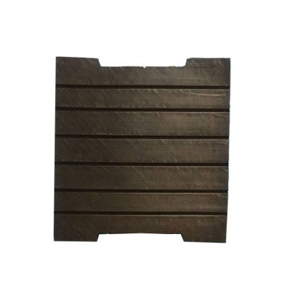 Rubber damping pads