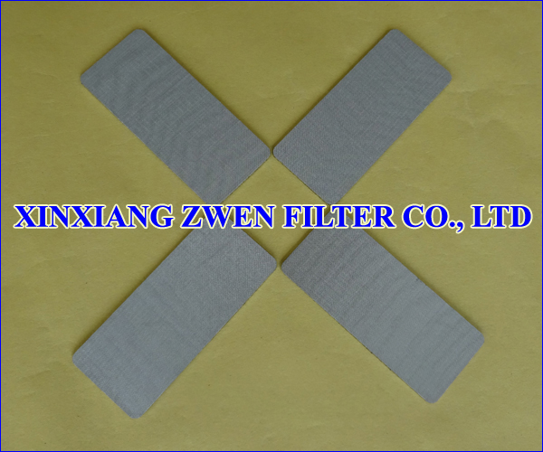 SS Sintered Filter Plate