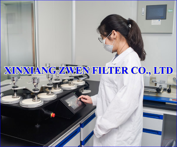 XINXIANG ZWEN FILTER CO.,LTD PERMEABILITY TEST