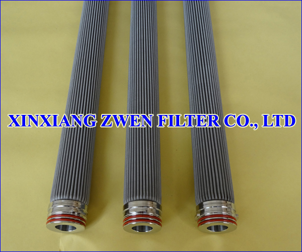 Pleated Mesh Filter Element