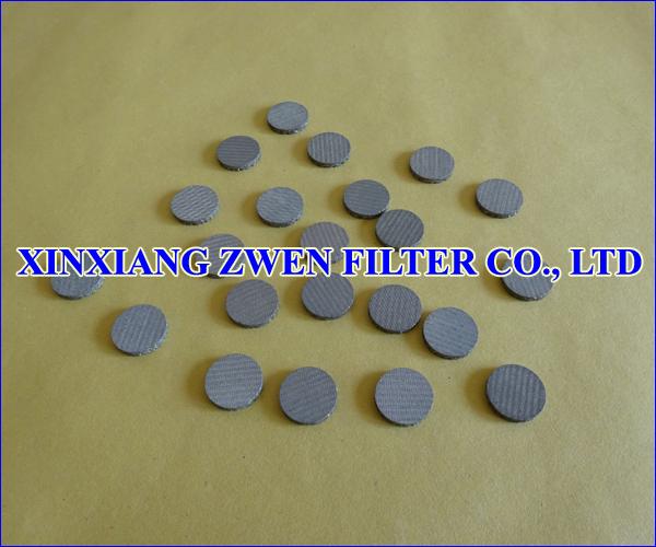 Sintered Wire Mesh Filter Disc