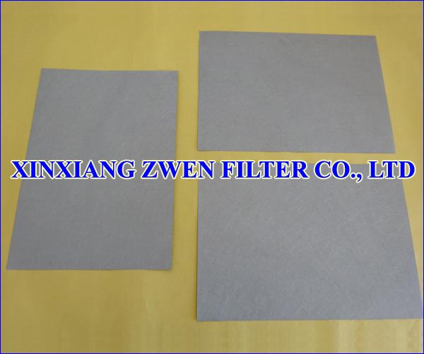 Stainless Steel Sintered Fiber Felt