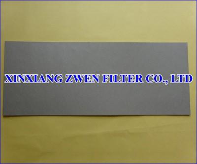 Titanium Porous Filter Sheet