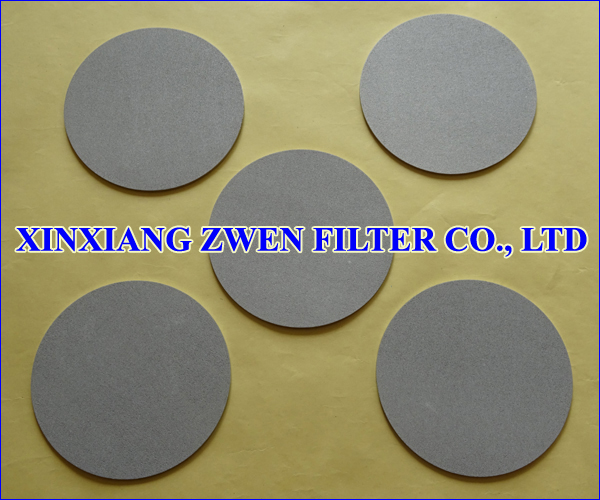 SS Powder Filter Disc