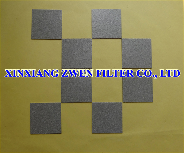 Stainless Steel Powder Filter Sheet
