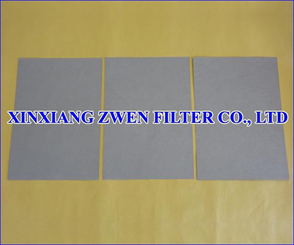 Sintered Metal Fiber Felt Sheet