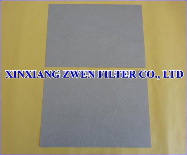 Sintered Fiber Felt Sheet
