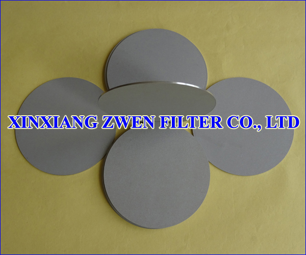 Titanium Porous Filter Disc