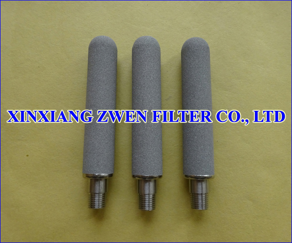 Titanium Porous Filter Cartridge