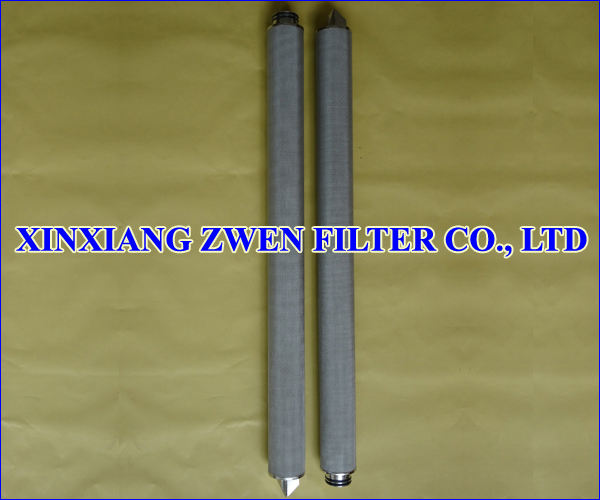 Cylindrical Metal Filter Element