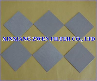 Sintered Filter Plate
