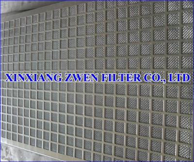 Perforated Sheet Sintered Wire Mesh