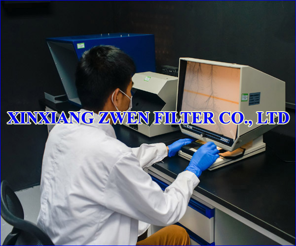 XINXIANG ZWEN FILTER CO.,LTD POROSITY TEST