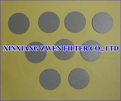 Ti Filter Disc