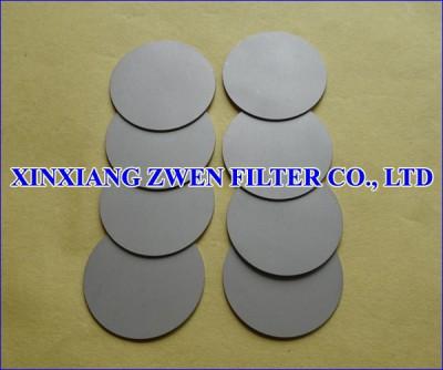 SS Porous Filter Disc