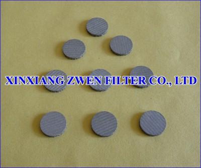 316L Sintered Filter Disc