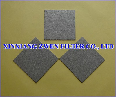 Titanium Powder Filter Sheet