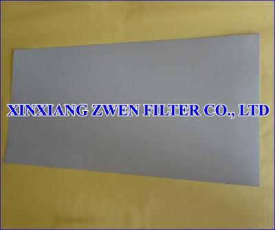 Metal Filter Sheet