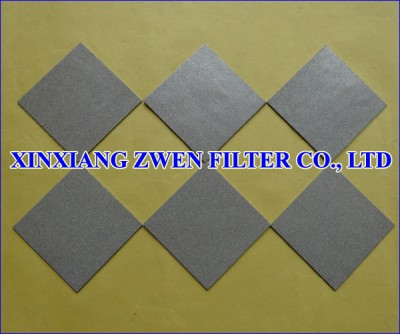 Stainless Steel Porous Filter Plate