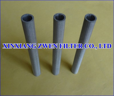 Metal Porous Filter Tube