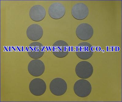 Titanium Porous Filter Disc