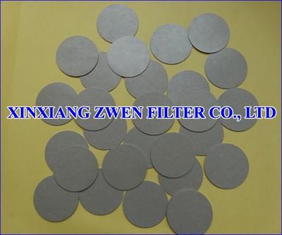Sintered Metal Porous Filter Disc