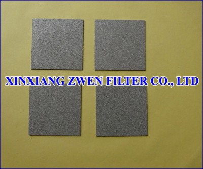 Titanium Porous Filter Sheet