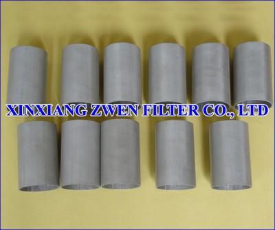 Sintered Metal Mesh Filter Tube
