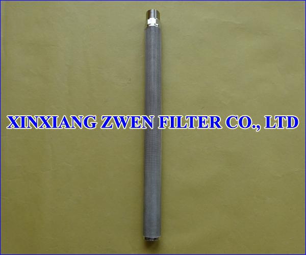 Cylindrical Metal Filter Cartridge