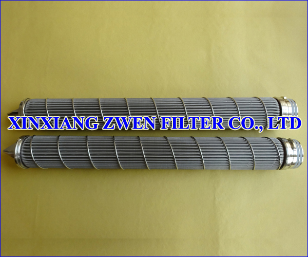 Pleated Mesh Filter Cartridge
