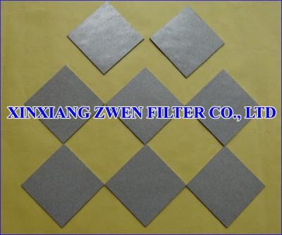 Ti Filter Plate