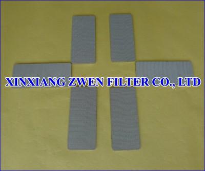 SS Porous Filter Sheet