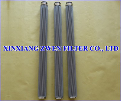 Pleated Sintered Filter