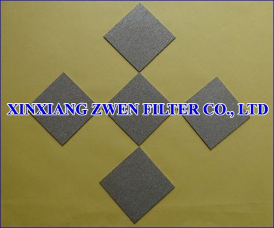 Titanium Filter Sheet