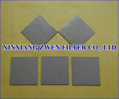 Titanium Frit Sheet