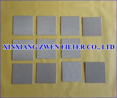 Metal Porous Filter Sheet