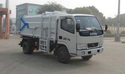 东风小多利卡挂桶式垃圾车