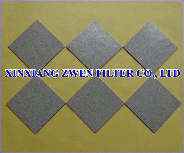 Ti Porous Filter Plate