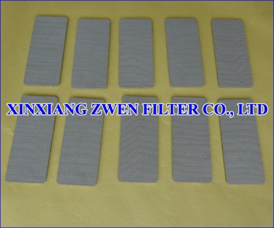 Sintered Porous Sheet