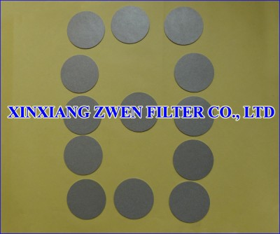 Ti Powder Filter Disc