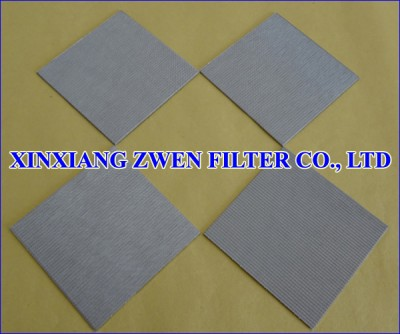 Multilayer Sintered Filter Sheet