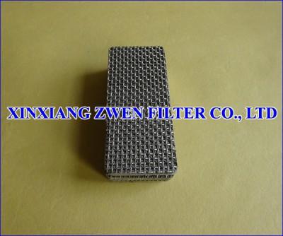 Sintered Metal Mesh Filter Plate