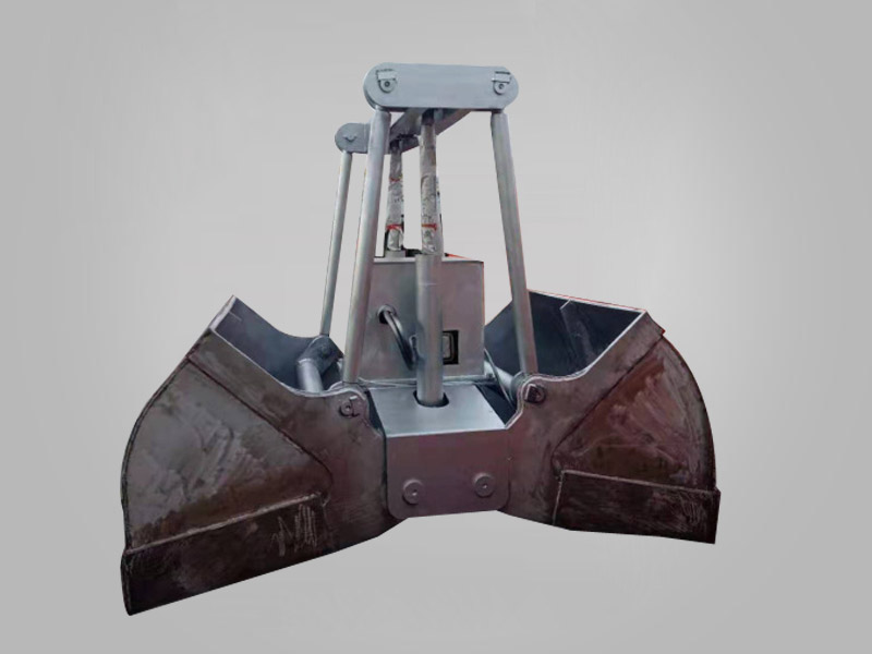 Stainless steel hydraulic double flap grab
