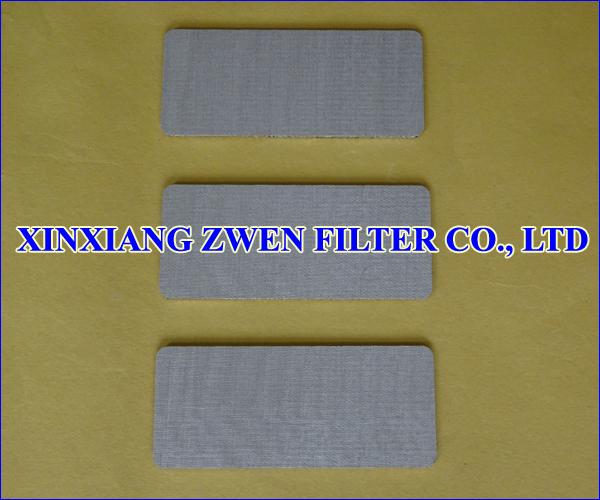 Sintered Porous Plate
