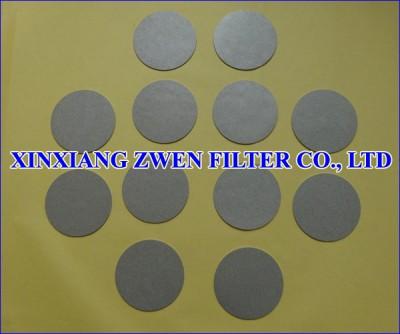 Metal Powder Filter Disc