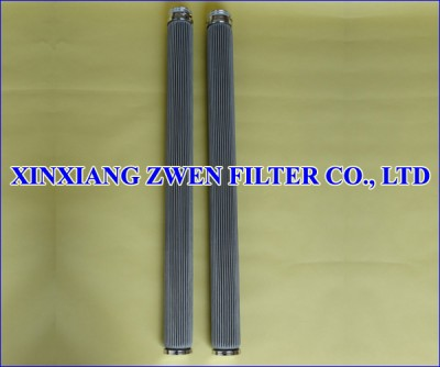 Pleated Stainless Steel Filter Cartridge