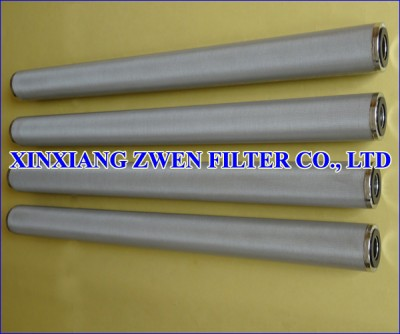 Sintered Metal Filter Cartridge