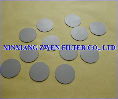 Stainless Steel Titanium Frit